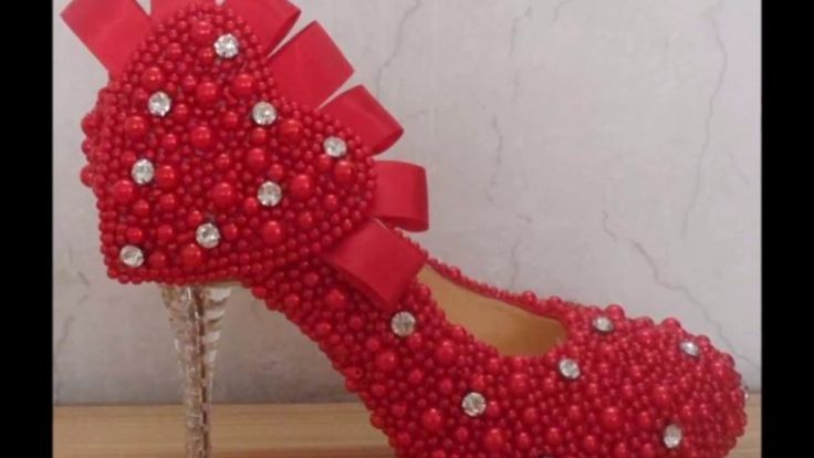 latest and Beautiful Bridal high heels designs