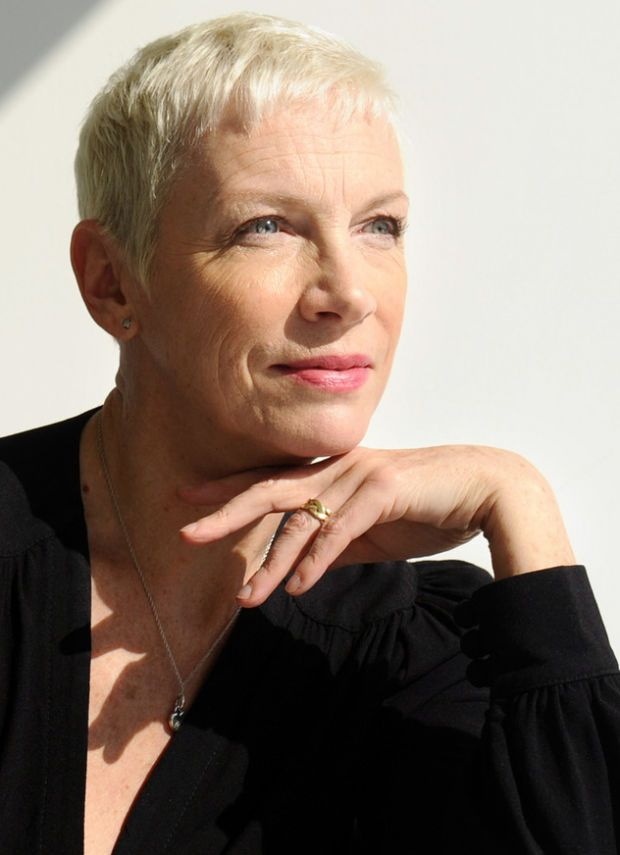 Photo by Wally Skalij / Los Angeles Times via the latimes.com: Annie Lennox Makes the Past Her Own on Nostalgia.