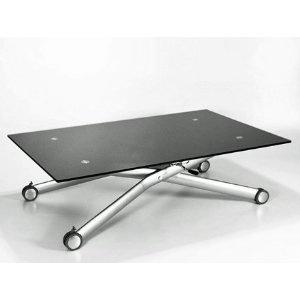 height adjustable dining table uk. nero height adjustable glass coffee/dining table: amazon.co.uk: kitchen height adjustable dining table uk