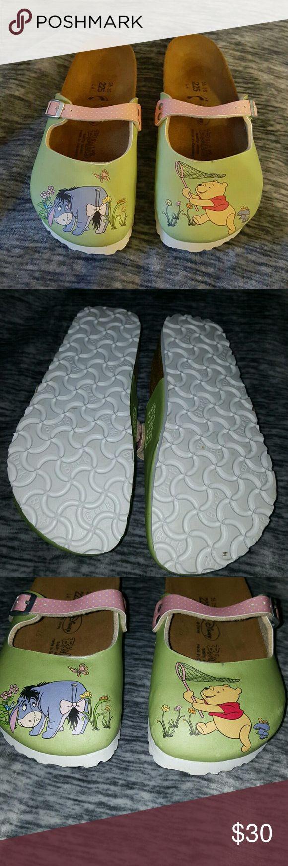 Disney birkenstock clog Guc disney birkenstock size 35 Birkenstock Shoes