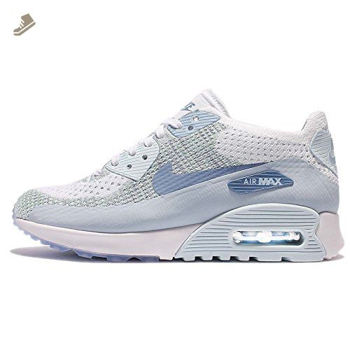 Nike - Wmns Air Max 90 Ultra 20 Flyknit Glacier Blue - 881109105 - Color: