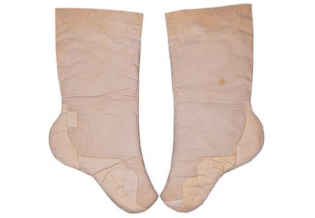Beoseon (Padded Cotton Socks) | 20th century | Seok Juseon Memorial Museum, Dankook University
