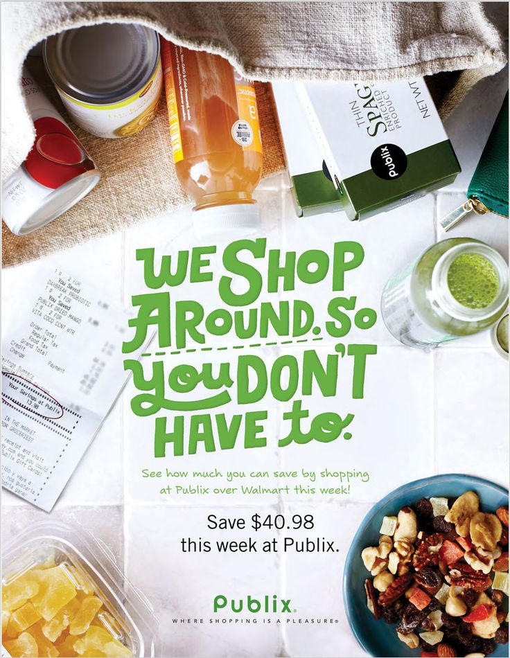 Publix Price Comparison February 22 - 28, 2017 - http://www.olcatalog.com/grocery/publix-pharmacy.html