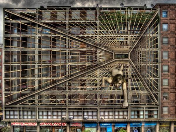 No More Abyss - Via Andrea Doria, Milan (Italy)