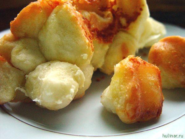 Обезьяний хлеб с сыром и чесноком (Monkey Bread)