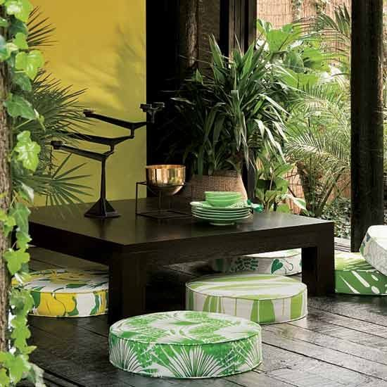 green decorative pillows decor exquisite design ideas 2 How To Make Your Home Totally Zen in 10 Steps