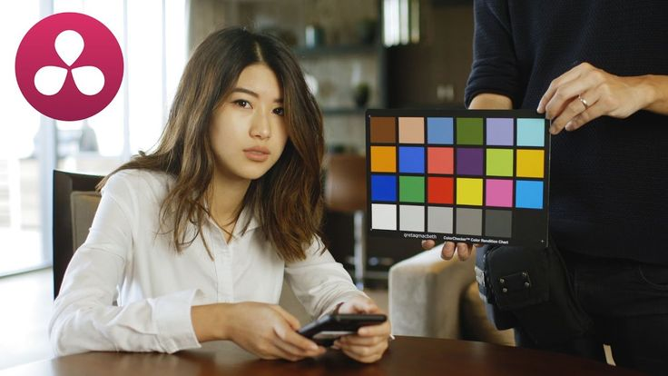 How to use a COLOR CHECKER CARD in RESOLVE