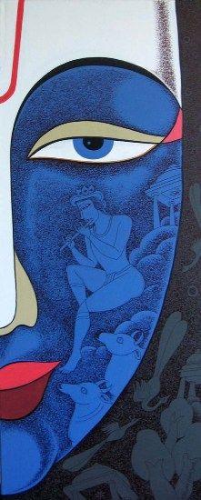 Por Amor al Arte: Krishna Ashok Pintor figurativo Indio