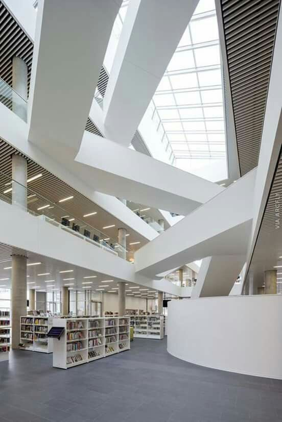 Modern Architecture Library 40 best libraries and mediateques images on pinterest