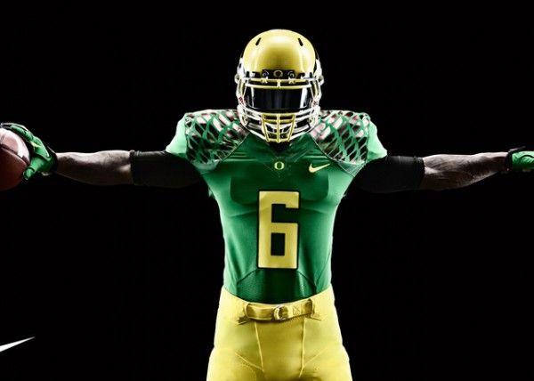 Oregon Ducks Season Opener Uniform