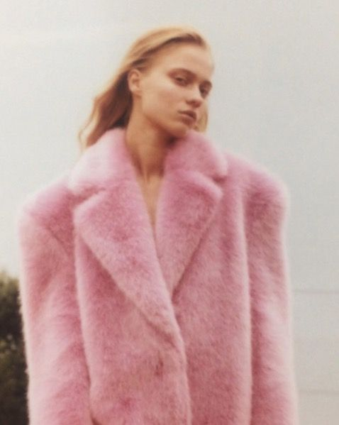 What's better than a pink fluffy coat!!!