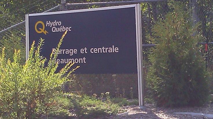 Protection du béton à la Centrale Beaumont, Québec.