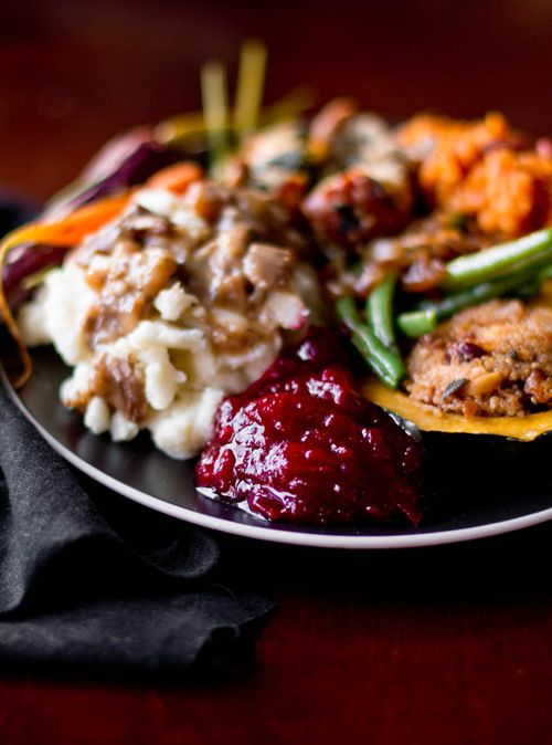 A Vegetarian Thanksgiving Menu - everything looks amazing!  lots of side dish (or main dish) ideas here.