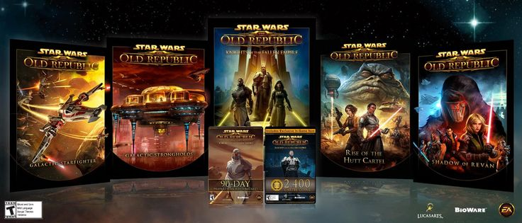 Amazon.com: Star Wars: The Old Republic - Knights of the Fallen Empire Starter Pack - Amazon Bundle [Online Game Code]: Video Games