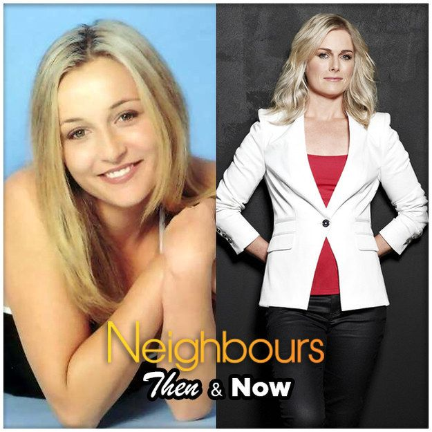 Lauren Turner | 10 Classic Neighbours Characters - Then And Now
