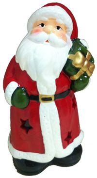 Noel Baba Mumluk Parti Hediyeleri - Özel Gün Hediyeleri 13x7cm ebatında, içinde tea light mum yakmaya uygun porselen biblo hediyelik. Yılbaşı hediyesi olarak idealdir.