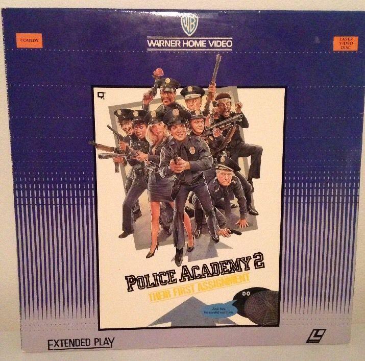POLICE ACADEMY 2 THEIR FIRST ASSIGNMENT Laserdisc LD Steve Guttenburg David Graf