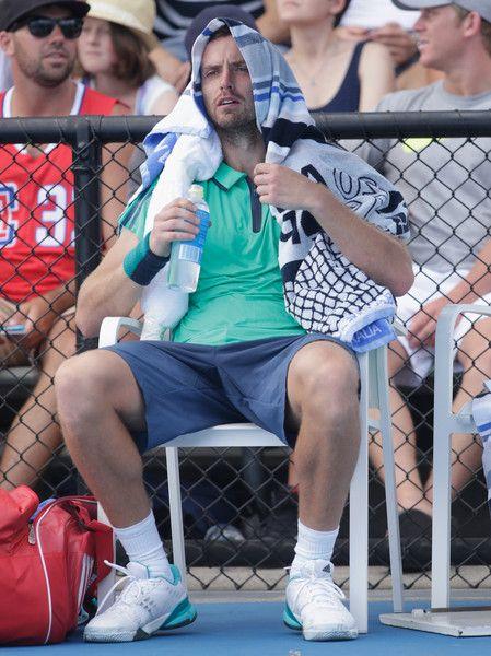 Ernests Gulbis Photos - 2016 Australian Open - Day 2 - Zimbio