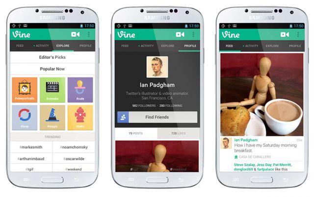 Arriva finalmente Vine per Android, e Twitter si intasa