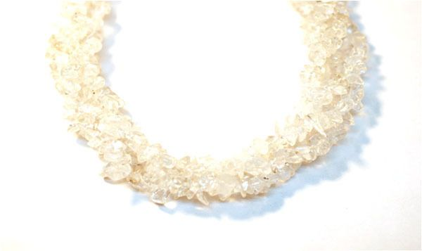 "2 Strands Crystal Quartz Endless Shape Chips Beads,Jewelry Making Chips,36"" Long #empressbeads"