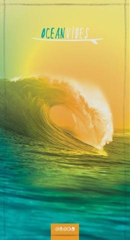 BUBEL  | NanoFibre Towel LARGE -  OCEAN