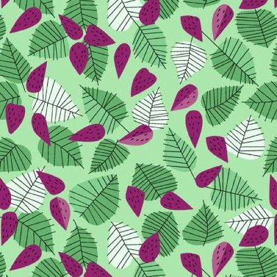 Berry and Leaf: Green