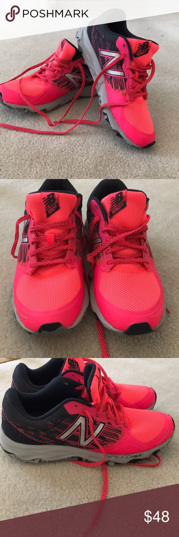 New Balance All Terrain Sneaker Never Worn ! New Balance All Terrain, Speed Ridge Shoe. Response2.0 Performance Insert. Hot Pink & Black Color Combo. New without tags or box New Balance Shoes Athletic Shoes