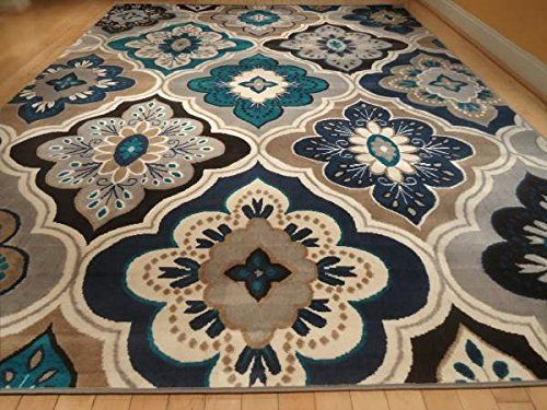 This rug is very nice and it comes in 2 sizes of 8x11 and 5x8 feet. Please note: Exact size for 8x11 is (7.8 x 10.6) and exact size for 5x8 size is...                                                                                                                                                                                 More
