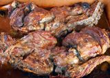 Spanish Christmas Menu - Menú de Noche Buena: Lechazo (Cordero) Asado - Roast Suckling Lamb