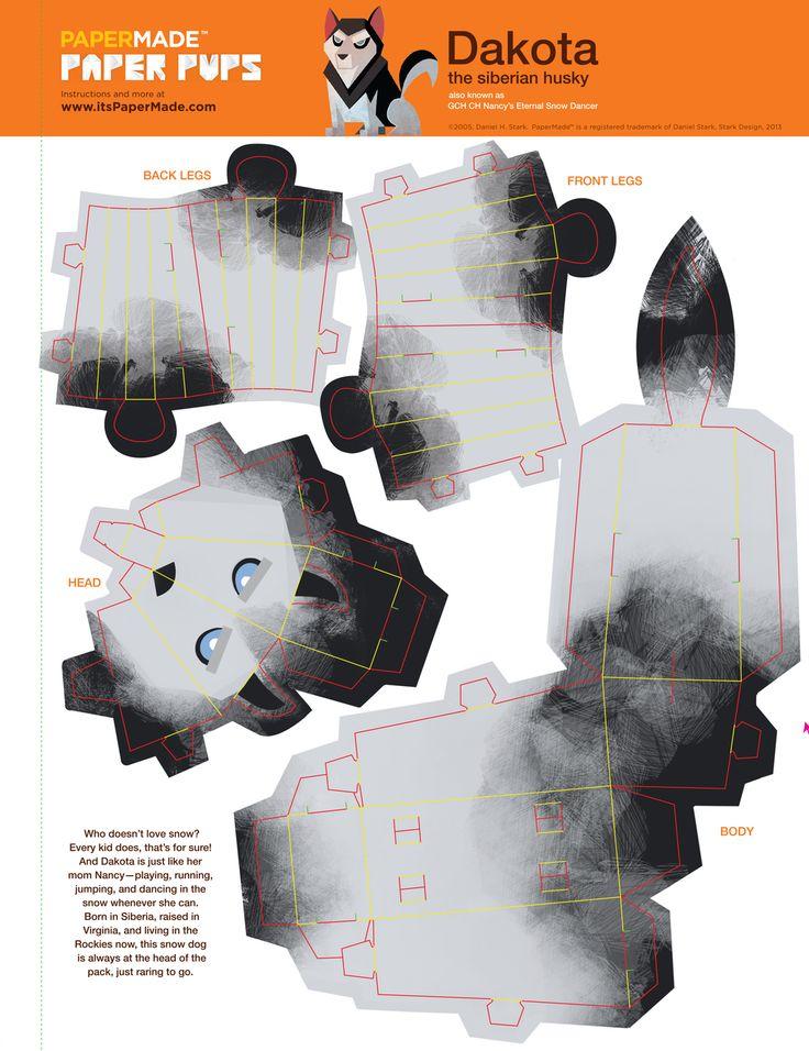 3d papercraft robots - Google Search