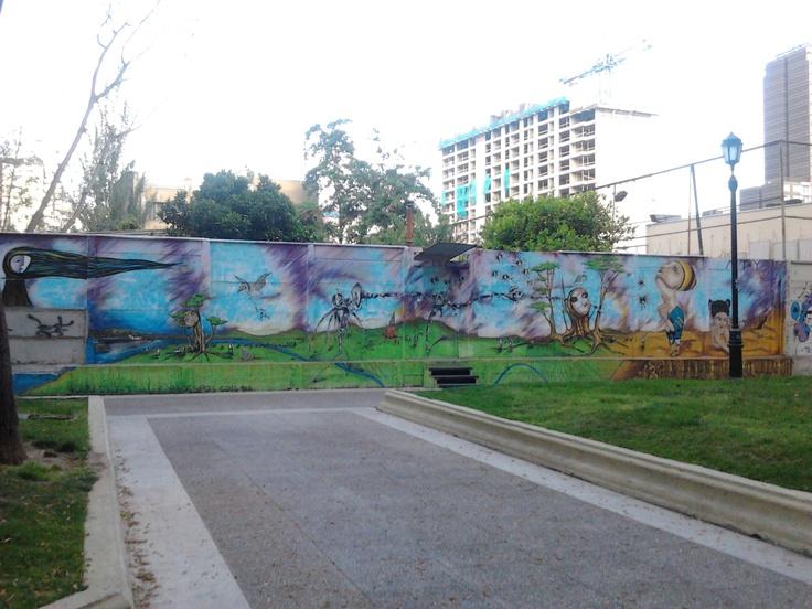 Mural (Paseo Bulnes).