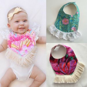 Boho Dribble Bibs by Le Coco Archie