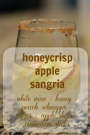 SMIDGE OF THIS: Honeycrisp Apple Sangria {Revisited}