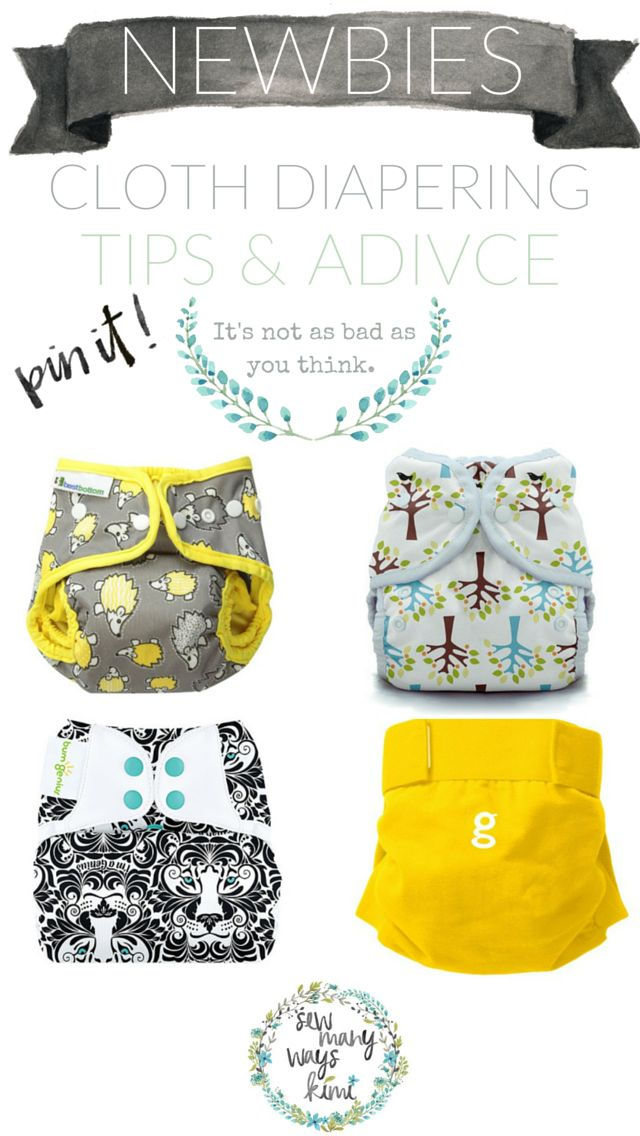 I'll get you started in a breeze! Cloth Diapering for Beginners/Newbies. 101 tips and advice. Knowing everything about cloth diapering can be difficult because there are SO MANY options and ways to do it that it can be a bit intimidating. So allow me to help you out! In this post I have listed the different cloth diapers you can use, and what to pair together for the optimal waterproof diaper.