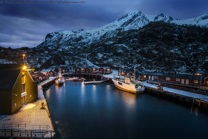 Magical atmosphere in Nusfjord by Alberto Ghizzi Panizza