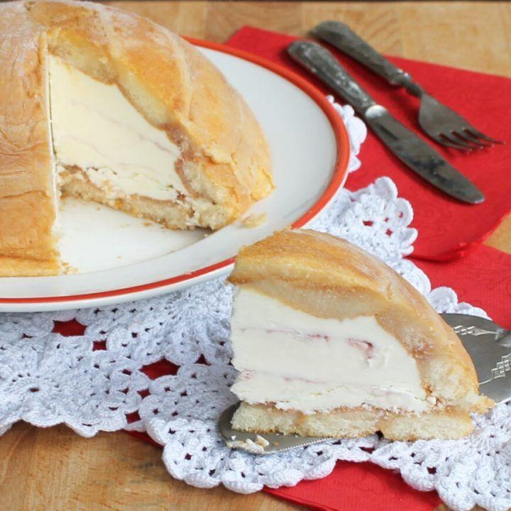 ZUCCOTTO SENZA COTTURA semifreddo veloce dolci senza forno