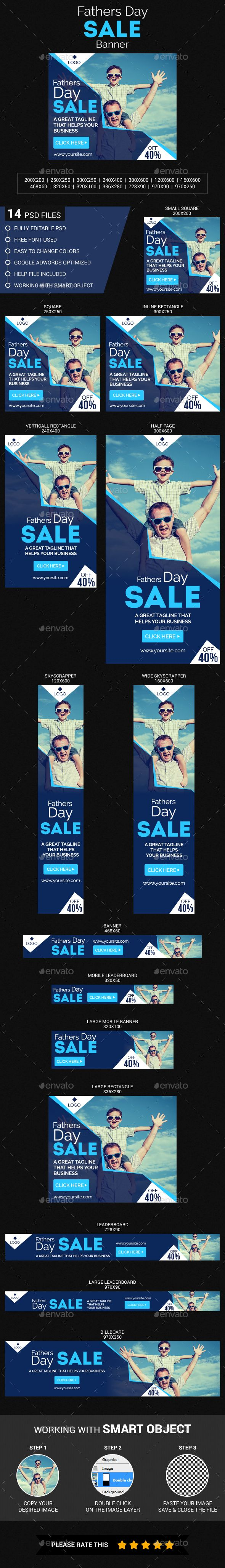 Fathers Day Sale — Photoshop PSD #Fathers Day #promotions • Available here → https://graphicriver.net/item/fathers-day-sale/20086885?ref=pxcr