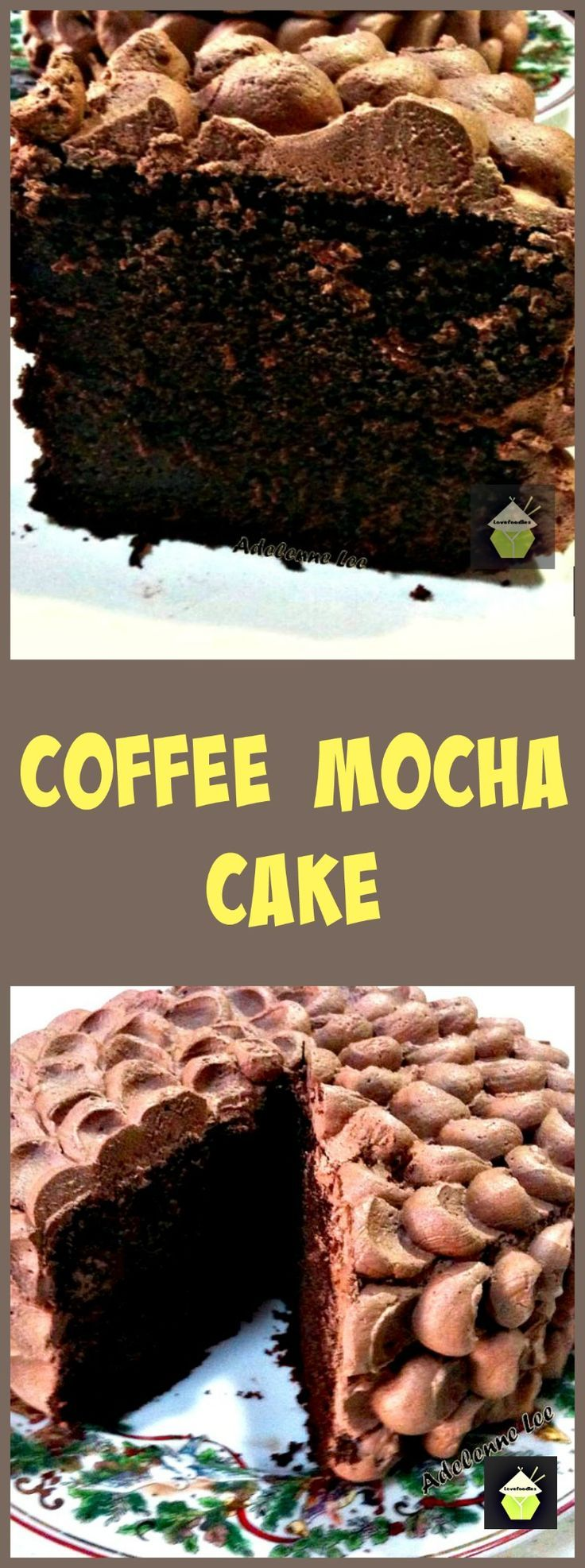 17 Best ideas about Mocha Cake on Pinterest | Moist coffee cake recipe ...