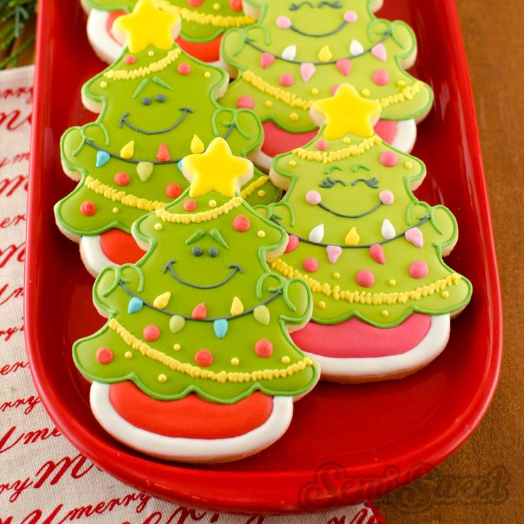 how to make christmas cookies step by step