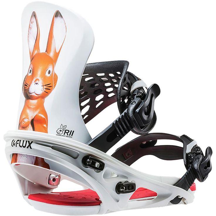 Flux - R2 Snowboard Binding - Mad Bunny