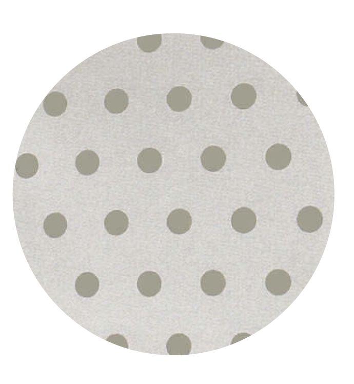Gecoat tafellinnen Van Gogh Plomo 180cm - Vrolijk afwasbaar tafellinnen met print van taupe stippen op een beige ondergrond. Dit geplastificeerd katoen is van zeer goede kwaliteit en heeft een tefloncoating. Dit maakt het uiterst vlekwerend en oerdegelijk. Mag op 30 graden worden uitgewassen! Kies de gewenste lengte in het menu en wij snijden uw gecoate tafelkleed netjes voor u op maat.