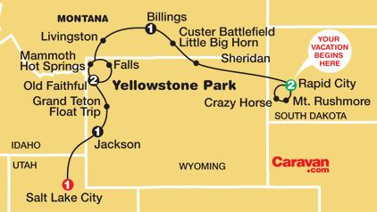 MUST DO IT - road trip through national parks of America: Grand Canyon, Mt Rushmore, Grand Tetons, Yellowstone.. Do it with a escorted tour if you don't wanna drive, or rent a car!