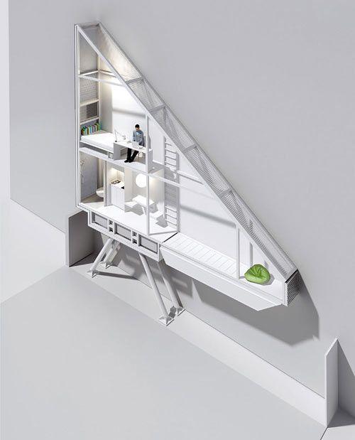 World's Thinnest House: Keret House by Jakub Szczesny - Design Milk