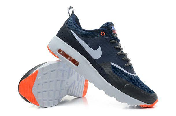 Nike Air Max Thea Navy White Orange