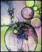 Art Journal 17 by *San-T on deviantART Circles hold many options....they can be symbolic of anything from eternity, cycle of life or seasons, sense of wholeness, calm, action, etc.