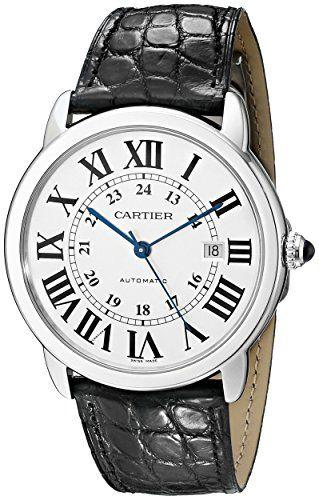Cartier Men's W6701010 Ronde Solo Analog Display Automatic Self Wind Black Watch https://www.carrywatches.com/product/cartier-mens-w6701010-ronde-solo-analog-display-automatic-self-wind-black-watch/ Cartier Men's W6701010 Ronde Solo Analog Display Automat