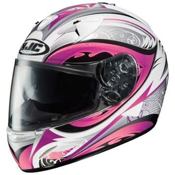 HJC IS-16 LASH Pink Helmet - LeatherUp.com