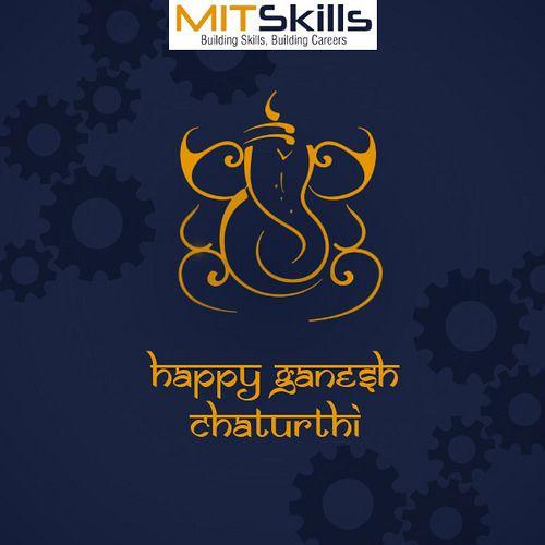 Happy Ganesh Chaturthi | Wish you a Very Happy Ganesh Chaturthi! #ganeshchaturthi #mitskills #pune  Visit : www.mitskillsindia.com