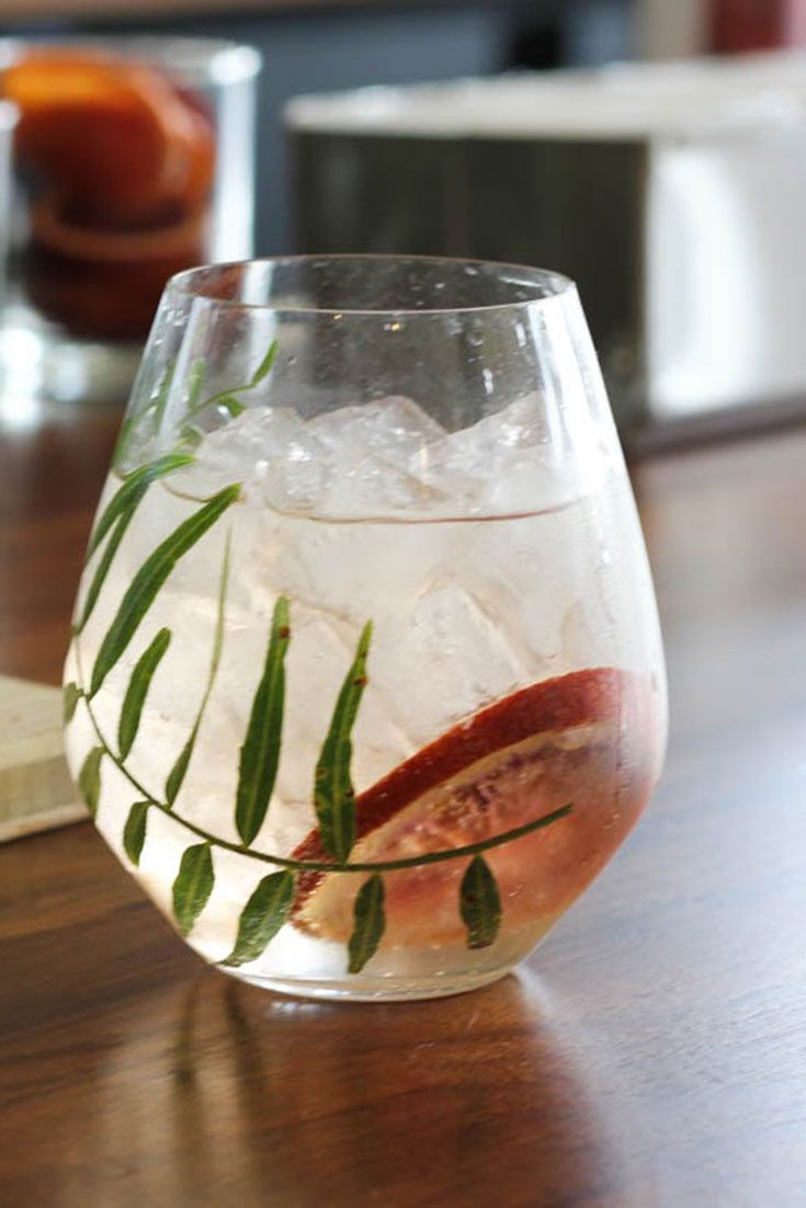 Learn how to make this refreshing gin and tonic recipe that uses homemade kaffir lime-infused gin, from Loquita in Santa Barbara.