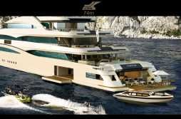 CRN 131 74 MT CRN 74 - Rendering/Profile - CRN Yacht
